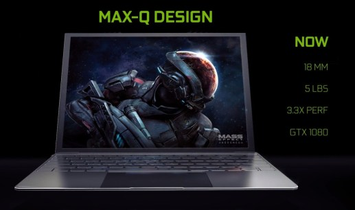 NVIDIA 'Max-Q' gaming laptops: ultrabooks with GTX 1080 power