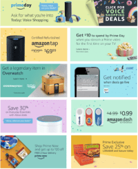 Amazon's Strategy Outlined in Prime Day Offers