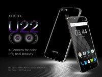 OUKITEL U22 News: Full Specs of World's First Smartphone with Four Cameras Revealed