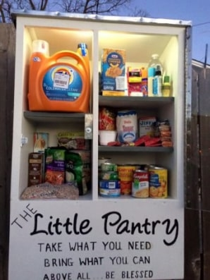 What Little Free Pantries Say About Hunger In America | DeviceDaily.com