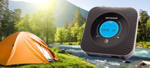 AT&T's Netgear mobile hotspot promises twice the speed of LTE