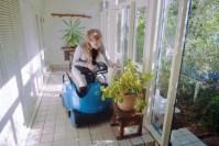 Robotic wheelchair gives you a piggyback ride