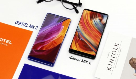 [Video] OUKITEL MIX 2 vs. Mi MIX 2: Appearance and Performance Compared in Hands-On Video | DeviceDaily.com