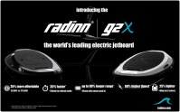 Radinn's second-gen electric wakeboard is faster and cheaper