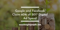 Google and Facebook Claim 60% of 2017 Digital Ad Spend