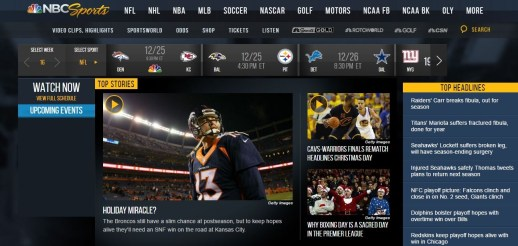 Sports Websites Dominated Late 2017 Rankings