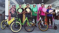 Grab has launched a bike-sharing service in Singapore