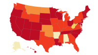 This heat map of U.S. solar jobs shows all the places where the sun is boss