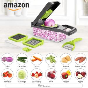 Multifunctional Vegetable Cutter & Grater 11 In 1 Vegetable Slicer