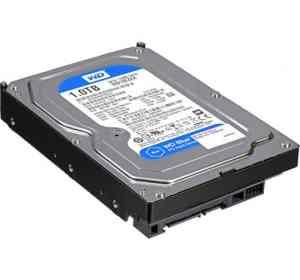 """WD 1TB Caviar Blue 3.5"""" SATA Desktop Internal Hard Drive"""