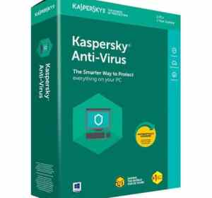 Kaspersky Antivirus 3 User + 1 Year