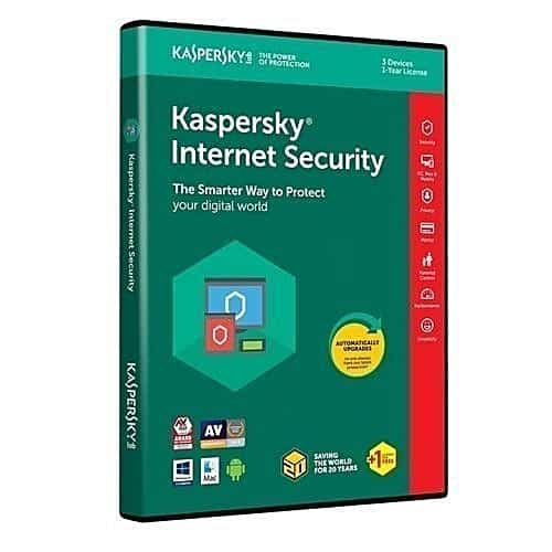 Kaspersky Internet Security 3 Users + 1 Year License