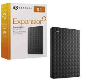 Seagate 2TB Expansion Portable USB 3.0 Hard Drive