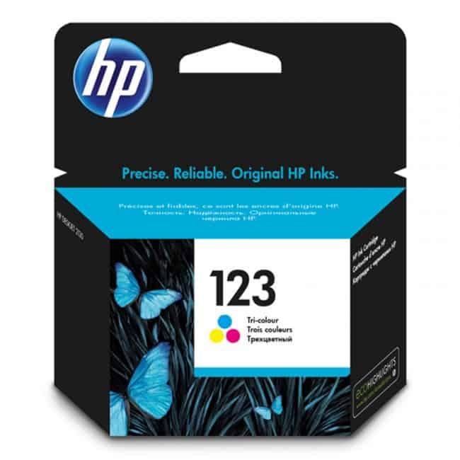 HP 123 TriColour Ink Cartridge