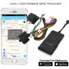 Car tracker with platform