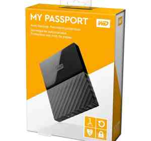 WD My Passport Auto Backup 1TB External Hard Disk