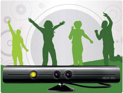 Kinect de XBOX360 ha superado el millón de ventas