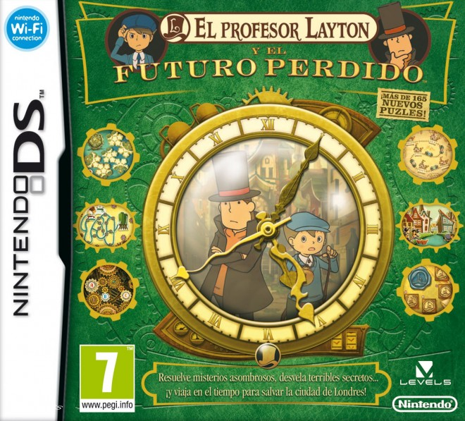 Nintendo DS: El profesor Layton y el futuro perdido