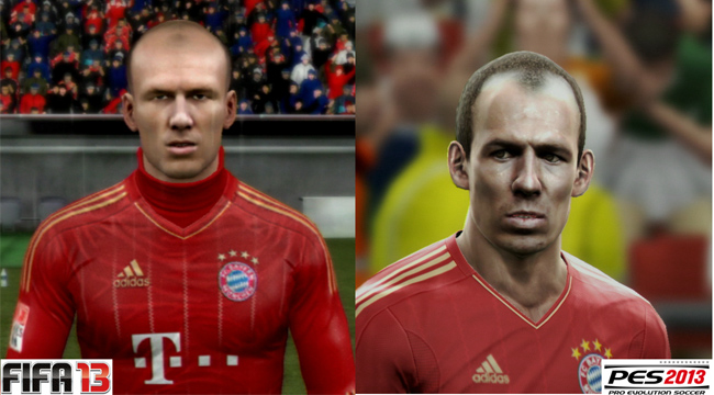 PES 2013 FIFA 13 Robben