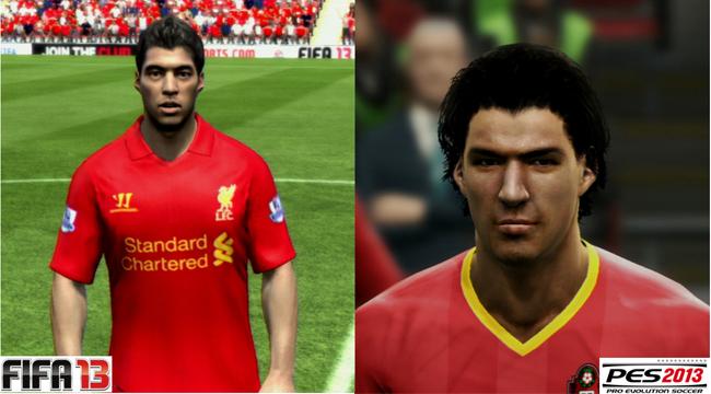PES 2013 FIFA 13 Luis Suarez