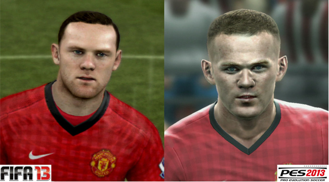 PES 2013 FIFA 13 Rooney