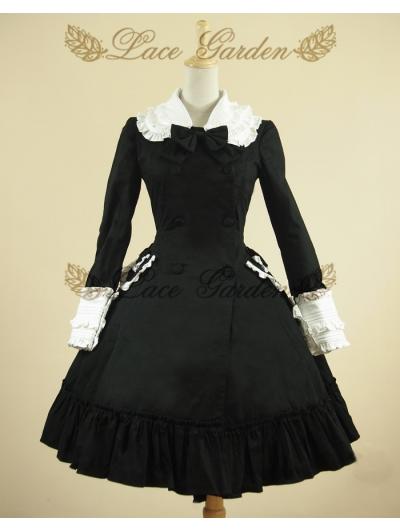 Black Classic Lolita Outfit