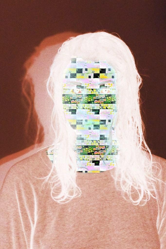 "Dévi Loftus, Self-portrait 2013, 2, Inkjet print, 41"" x 27""."