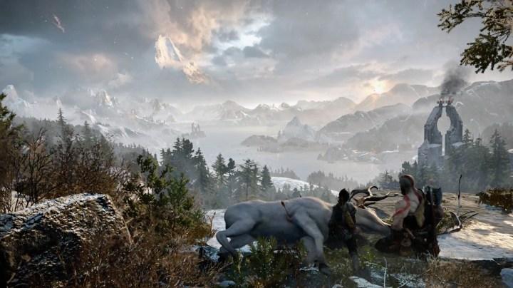 Vista nel trailer E3 di God of War