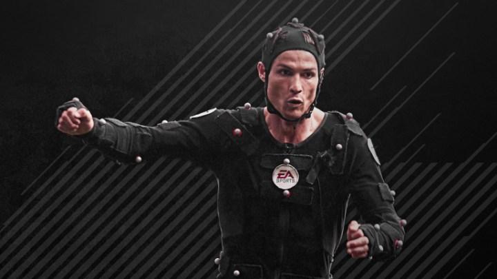 Sessione motion capture FIFA 18