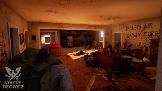 State of Decay 2: in game screen