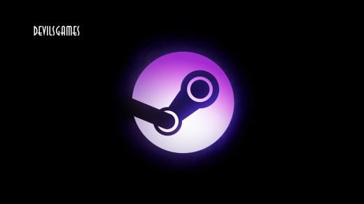 Logo Steam + Logo DevilsGames