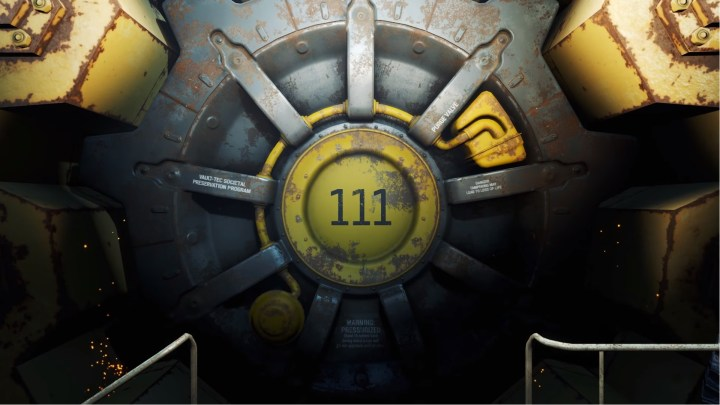 Apertura Vault 111 in Fallout 4 VR