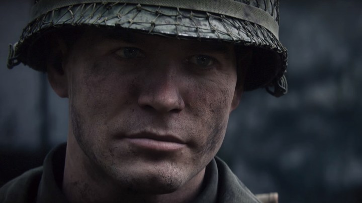Il soldato Daniels in Call of Duty: WW2