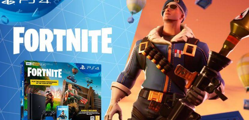 Il Fortnite Bundle PS4 da 500 GB arriva il 16 luglio
