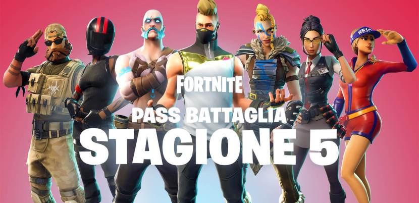 Pass Battaglia stagione 5 Fortnite: scopri cosa contiene