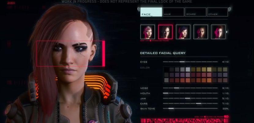 Cyberpunk 2077: la creazione del personaggio sarà gender free