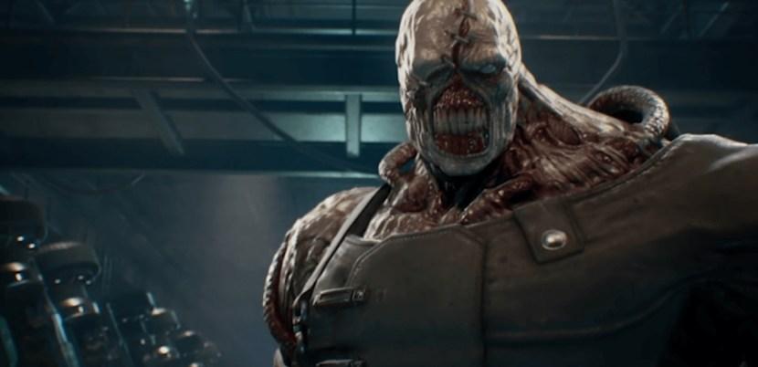 Resident Evil 3: Remake, Jill e Nemesis su PS4