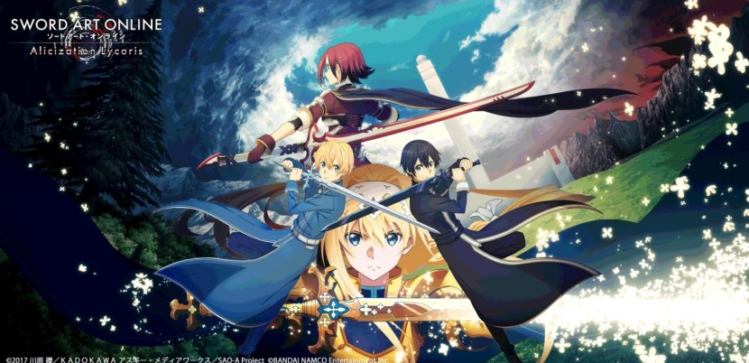 Sword Art Online Alicization Lycoris: data di uscita annunciata