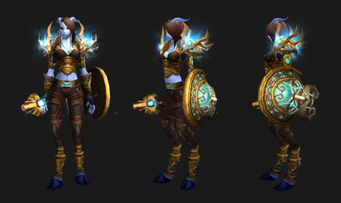 Mail Transmog: Northern Barrier - Female Draenei