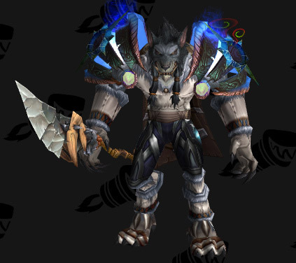 Leather Transmog - Worgen - White Jerkin