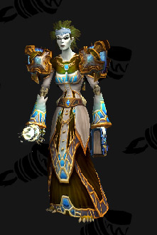 Cloth Transmog - Garments of Temperance - Undead Priest