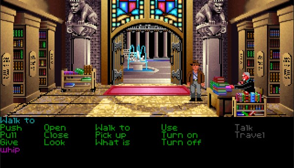 Indiana Jones Old PC Game
