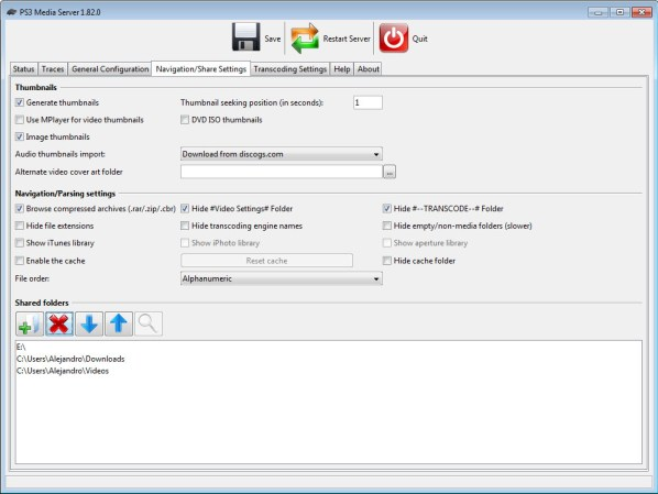 PS3 Media Server 3