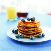 Better Blueberry Pancakes