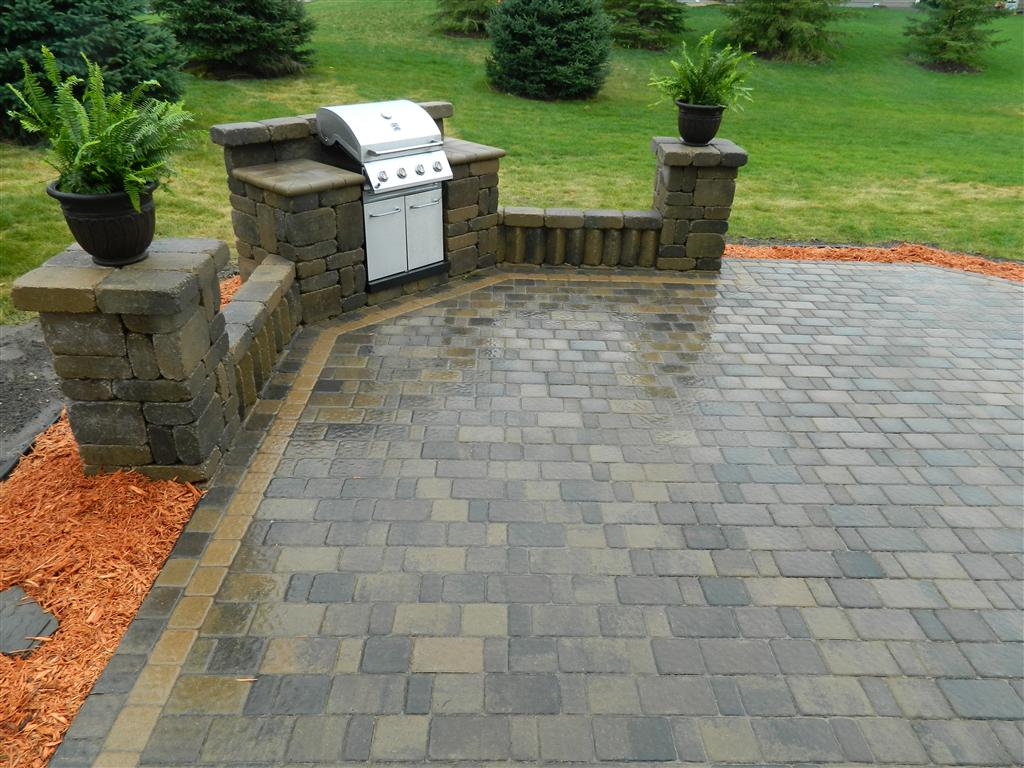 Paver Patio Design Rosemount, MN | Devine Design Hardscapes on Patio Grilling Area  id=28522