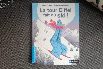la tour eiffel fait du ski
