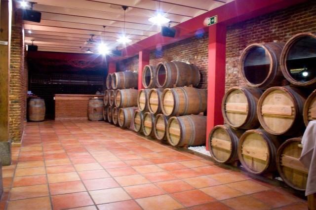 Parte de la planta baja en Centro de Experiencias y Escuela del Vino - La rebelión de los Mandiles- Fuente: Grupo Vinotivm