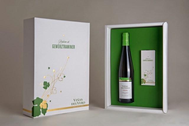 Estuche de edición limitada Perfume de Gewürztraminer. Fuente: Heraldo.es
