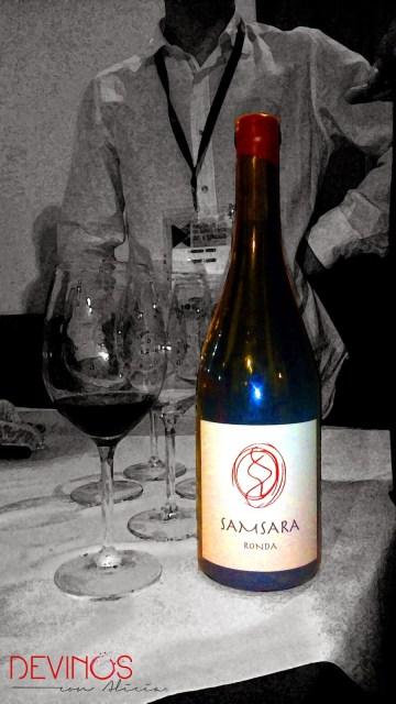 Samsara 2011 en el Salón Peñín de los Grandes Vinos de España 2014. Fuente: Devinos con Alicia