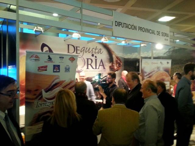 Stand Diputación provincial de Soria, Madrid Fusión 2015. Fuente: Cárnicas Sierra de Toranzo